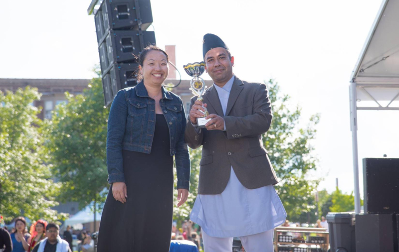 Iowa Nepalese Association successfully participated in the 14th Asian Heritage Festival